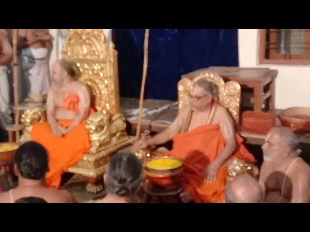 Azhagiyarsinghar Visit To Andavan Ashramam