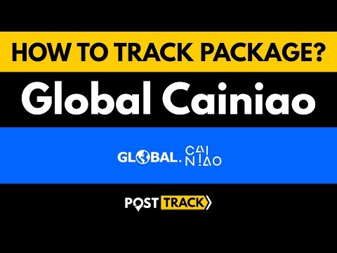 How To Track Package Global Cainiao?