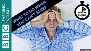 Скачать What To Do When You Can T Sleep 6 Minute English