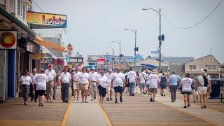 New Jersey American Legion walks for Buddy Check Awareness