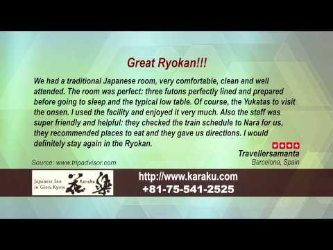 Karaku - REVIEWS - Kyoto Ryokan & Onsen Kyoto Reviews