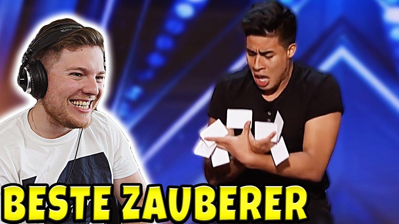 TOP 5 beste Zauberer bei America's Got Talent 2020 - Magier reagiert