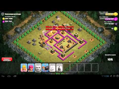 Clash of Clans Singleplayer || Jump Around - Herumgespringe 100% || 300k Gold & Elixir [HD]