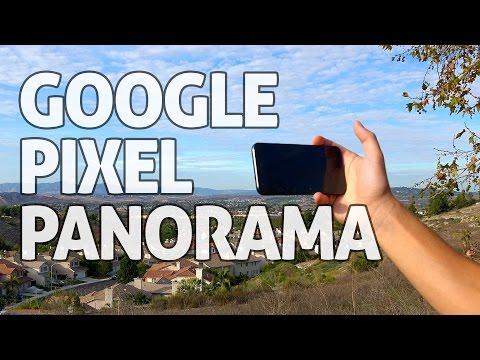 Google Pixel Phone: Panorama Camera Modes