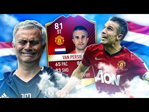 MANCHESTER UNITED VAN PERSIE THE RETURN OF THE FLYING DUTCHMAN! FIFA 17 ULTIMATE TEAM