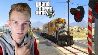 GTA V PRAWDZIWE ŻYCIE #32 - Prowadzimy pociąg?!