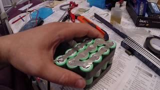 збірка акумуляторної батареї із 18650