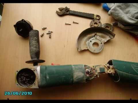 Reparar amoladora bosch