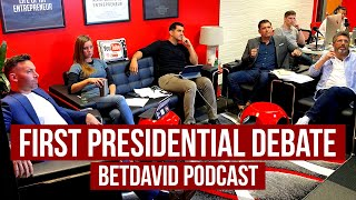 LIVE PRESIDENTIAL DEBATE | BetDavid Podcast | EP 15 | PART II