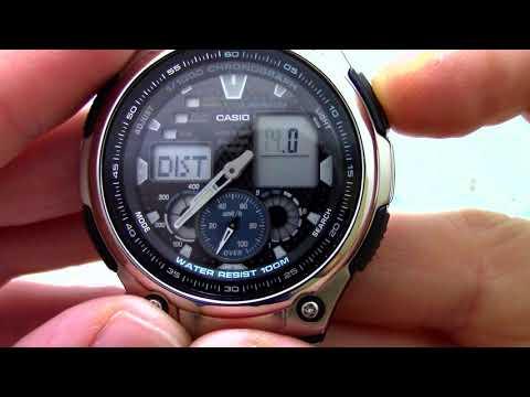 Часы Casio Illuminator AQ-190WD-1A - Инструкция, как настроить от PresidentWatches.Ru