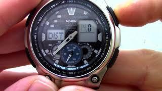 Годинник Casio Illuminator AQ-190WD-1A - Інструкція, як налаштувати від PresidentWatches.Ru