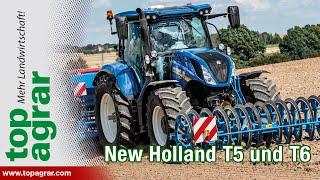 Sauberes Update: Neue Modelle New Holland T5 und T6
