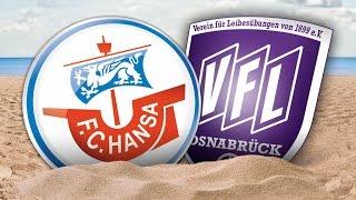 PK nach dem Heimspiel gegen den VfL Osnabrück