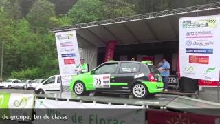 Team Campagnards - Rallye Du Lozère 2015