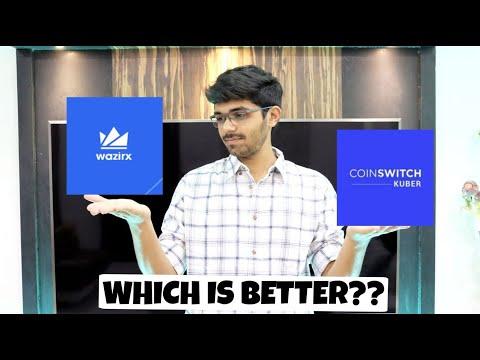 COINSWITCH KUBER VS WAZIRX | BEST APP TO BUY BITCOIN IN INDIA