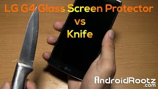 amFilm Glass Screen Protector for LG G4! [Scratch Test]
