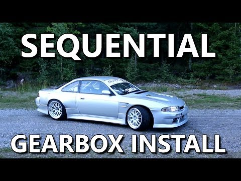 Nissan S14 Sequential Gearbox Install