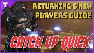 Destiny 2: Guide for beginners and returning players | BASICS, PERKS, MODS, u0026 BUILDS | 2019