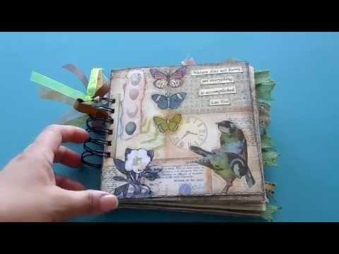 Vintage Nature Junk Journal
