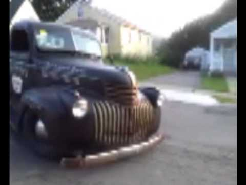 42 Chevy Shop truck video with pics