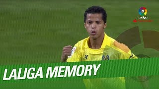 Laliga Memory: Gio Dos Santos Best Goals And Skills