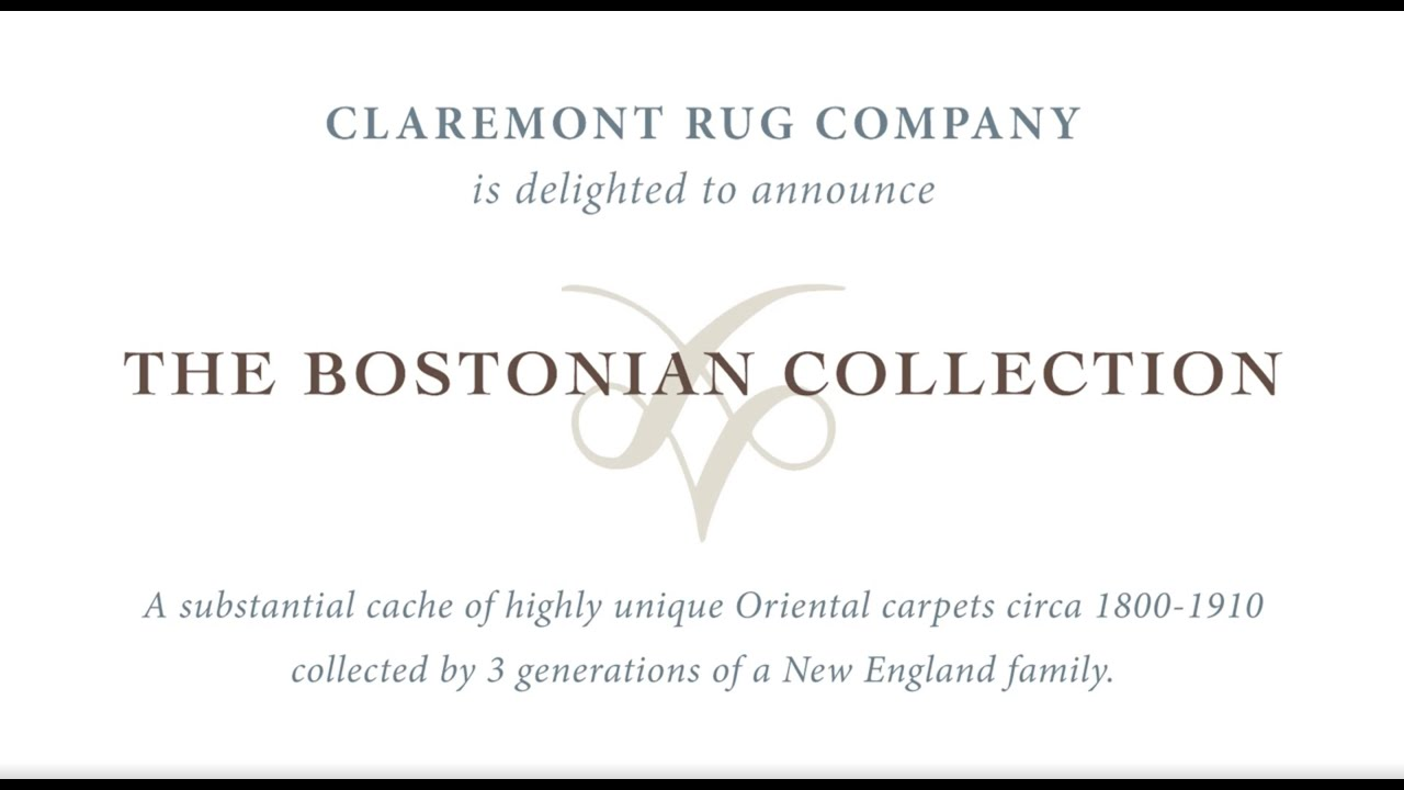 Jan David Winitz Presents Claremont Rug Companyu0027s Exclusive New Bostonian  Collection Of Antique Rugs
