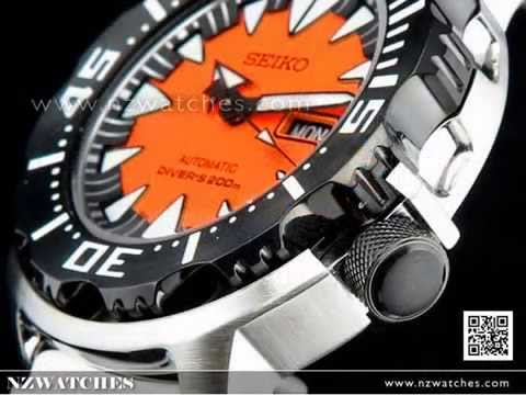 Seiko Orange Monster Automatic 200M Diver Watch SRP315K2 d8c2e3d7d9ff