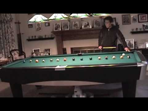 Billiards: Cue Ball Control 15 Ball Practice Drill (part 1) On Tight  Pockets 9 Foot Pool Table   YouTube