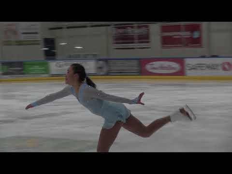 Michelle Wong - Junior Women Short Program - 2017 Canmore Fall Invitational