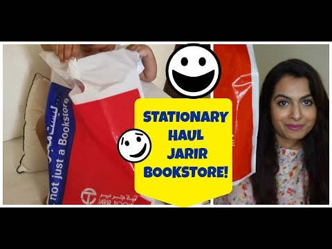STATIONERY HAUL || TODDLER EDUCATIONAL TOYS || JARIR BOOKSTORE