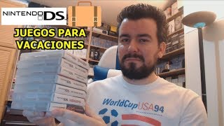 Juegos de NINTENDO DS para llevarse en VACACIONES