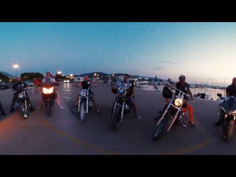 Motoklub Bar. Montenegro video 360.