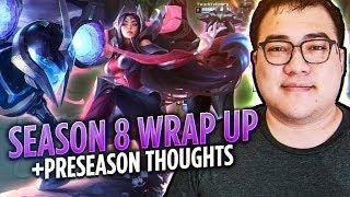 Scarra's End of Season 8 Wrap Up + Preseason Thoughts