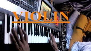 Roland Fantom G6 Demo Indian Tones OR Patches Keyboard solo