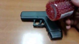 Пістолет іграшковий металевий на 6 мм пульках