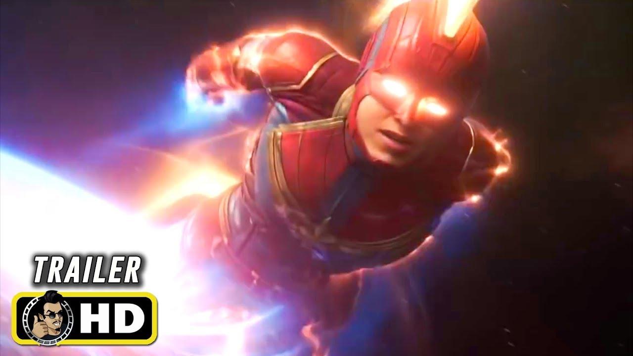 Captain Marvel 2019 Monumental Tv Spot Trailer Hd Youtube