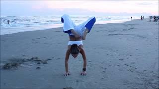 Demostración de destreza y Capoeira Profesora Pimenta Betania Flores