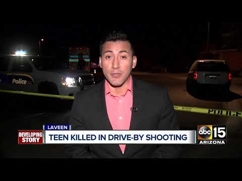 Teen killed in Laveen drive-by shooting