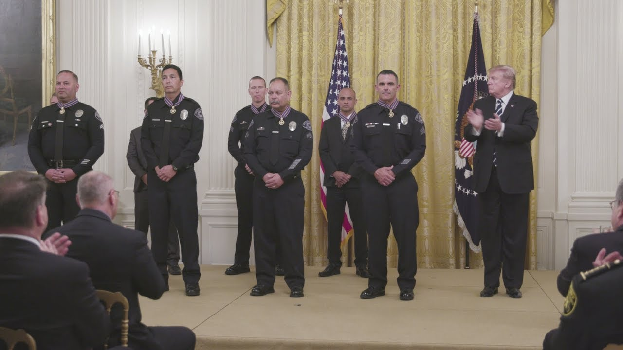 Medal of Valor ceremony recognizes two Kansas firefighters