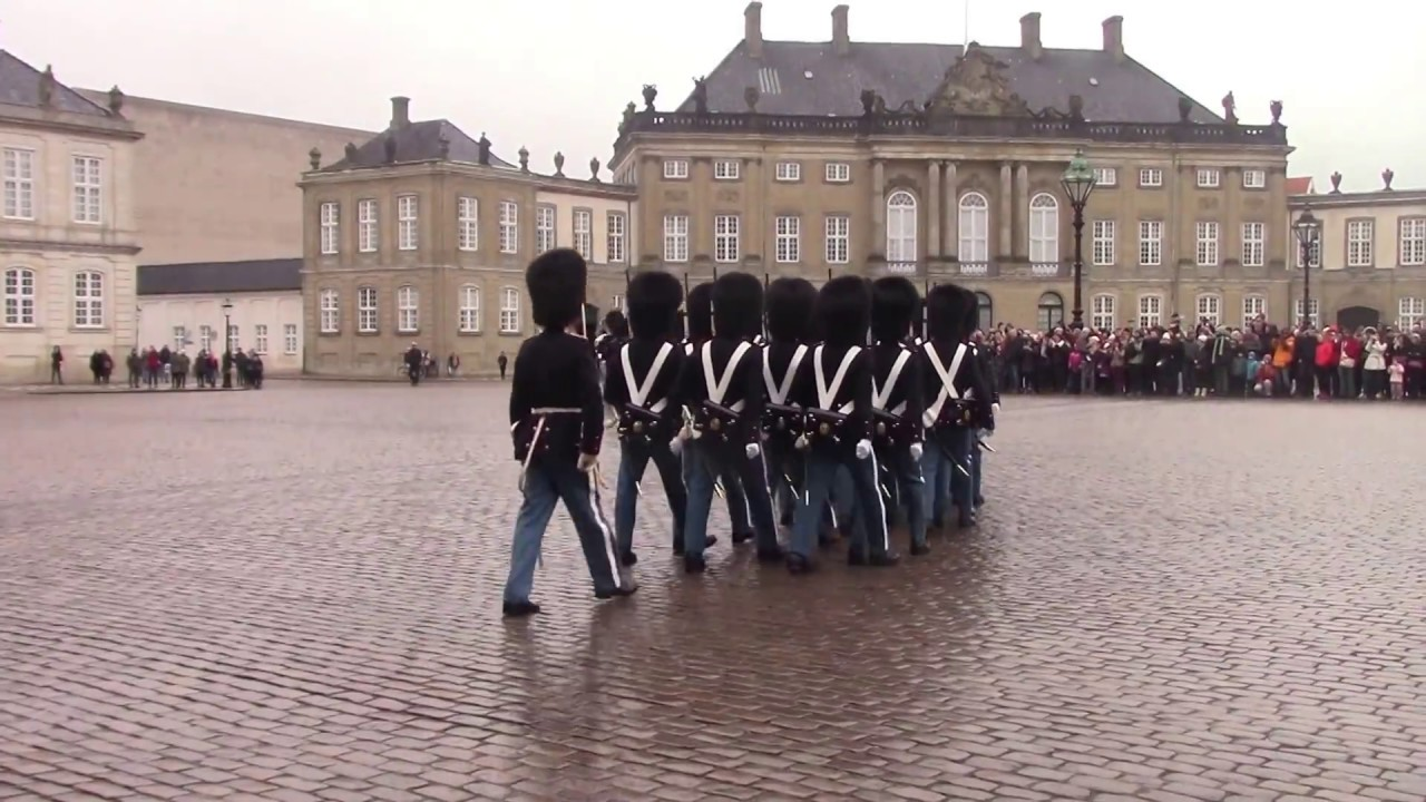 Image result for amalienborg palace changing of the guard