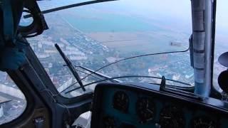 полет на вертолете(Полетал на вертолете на 900-летие Слуцка. Хорошо, но мало. Высота полета до 280 м., средняя скорость 120 км/ч. Без..., 2016-10-02T12:28:45.000Z)