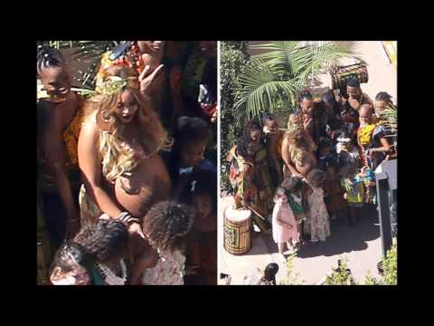 Download Youtube: BEYONCE: Second Baby Shower In the Midst of Birth of Twins Rumors (PICS)