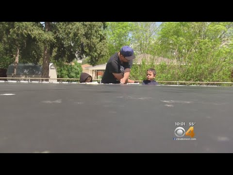 Bizarre Trampoline Dispute Turns Into Opportunity To Pay It Forward