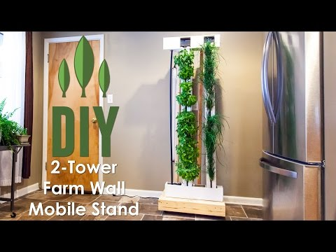 Diy Vertical Garden How To Build Rolling Stand For Your
