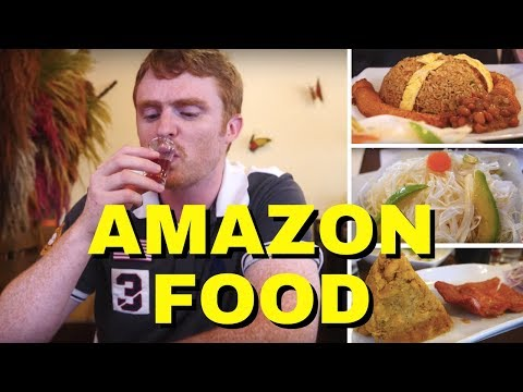 Peruvian Cuisine Review - Eating Amazonian Food in Lima, Peru from the Amazon Jungle