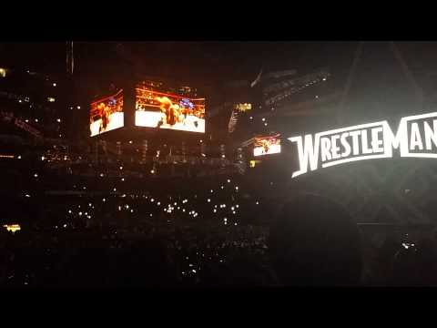 Wrestlemania XXX Intro & Hulk Hogan Entrance Live
