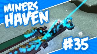 Miners Haven #35 - WINTER IS HERE (Roblox Miners Haven)