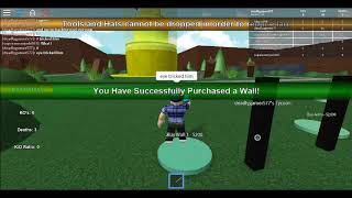Roblox(Using another account by a fan) by XA AE