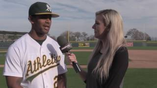 Khris Davis On Why He Had A Power Surge In 2016