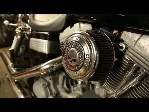 How to clean your air filter on a Harley Davidson